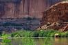 Colorado river red cliffs