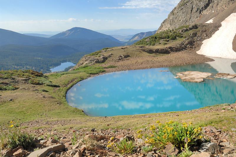 Green Lake and Irwin Lake