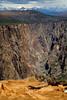 2700 feet drop off  ( Gunnison Black Canyon , Warner point looking East )