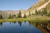 Beaver pond ( Paradise pass 11 250 feet - 3430m)