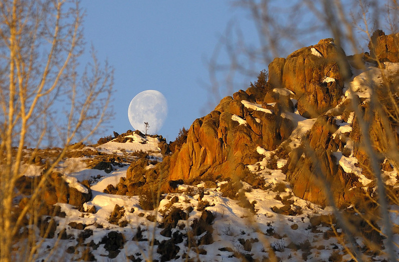 Top of the World moon  (Gunnison)