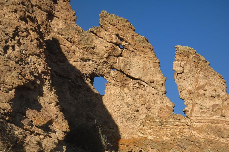 Rocks just before sunset  Gunnison