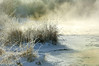 Frozen Tomichi creek