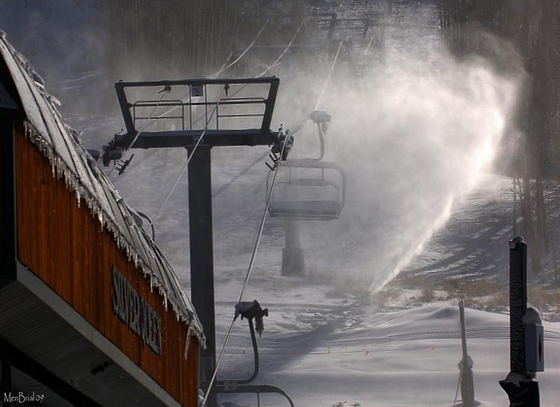 Silver Queen lift ( Crested Butte Mountain Resort )