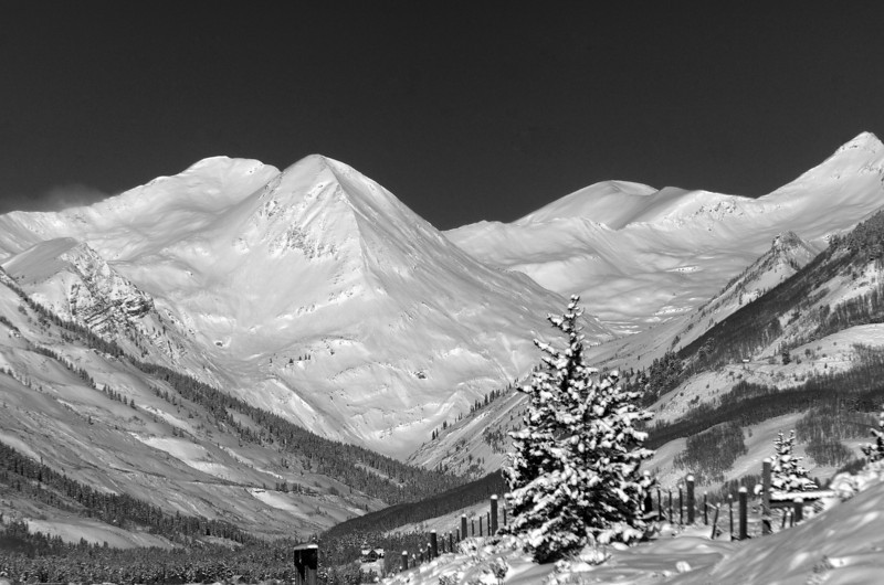 Paradise Divide Peaks