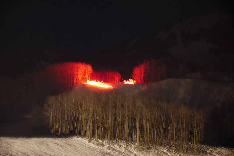 Light in the trees (Crested-Butte )