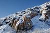 Climbing to the ridge