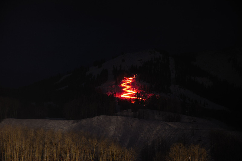 Torch parade (Crested_Butte)