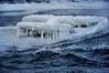 Icy rapids