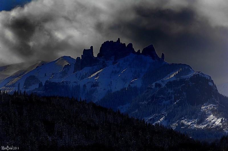 Castle mountain (Gunnison)