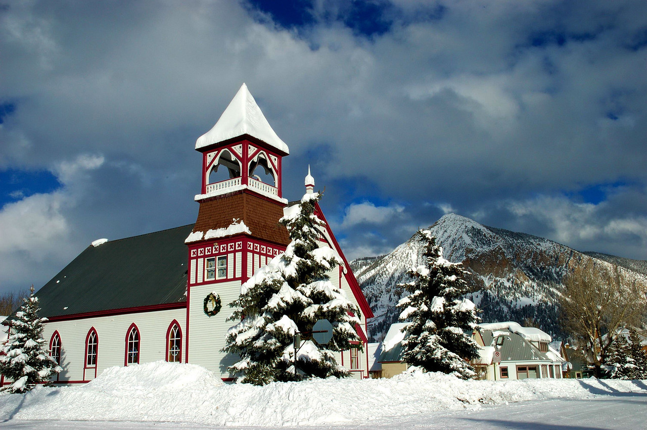 Crested-Butte church