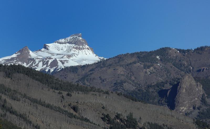 Uncompaghre peak . (14315 feet / 4363 metres )