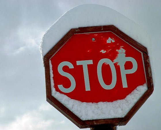Stop the snow !!!