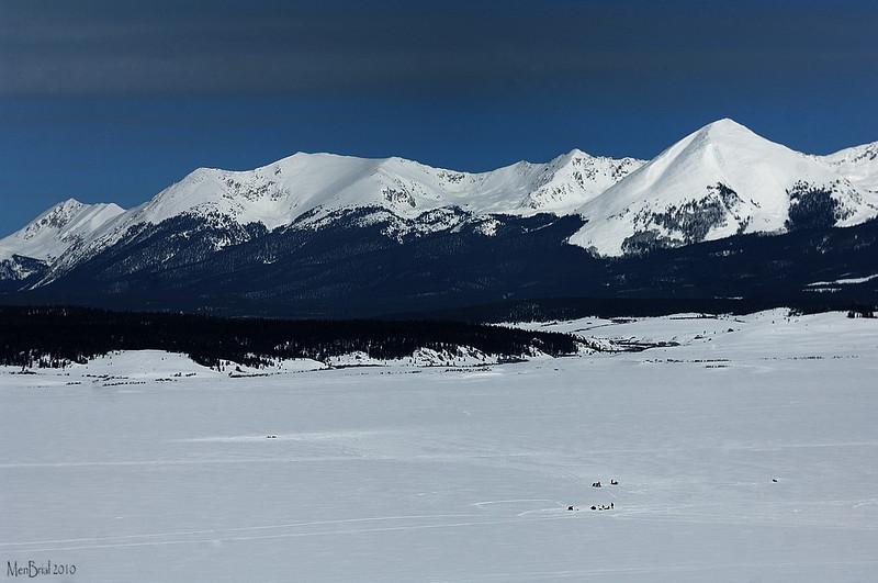 Ice fishing  (Taylor reservoir)