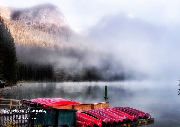 Emerald Lake, British Columbia CA