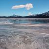 Lunar Lit Lake Abraham