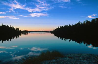 (B094)  Evening Calm - Quetico Provincial Park, Ontario