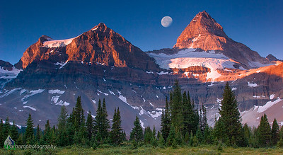 Mount Assiniboine at Sunrise  (BC-07109)