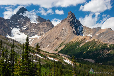 Mount Athabasca and Hilda Peak  (BA-07110)