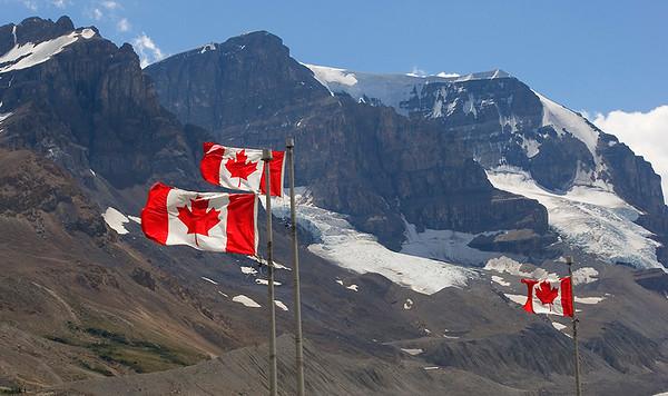"(JA-07010)  ""Ohhh Canadaaa!"" - Columbia Icefields"