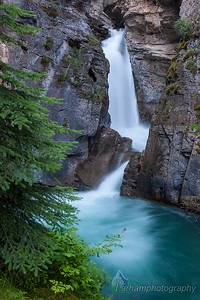 Falls In Johnston Canyon  (BA-07056)