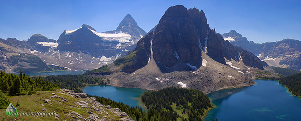Mount Assiniboine Panorama