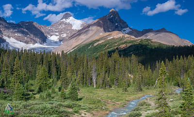 Mount Athabasca & Hilda Peak   (BA-07093)