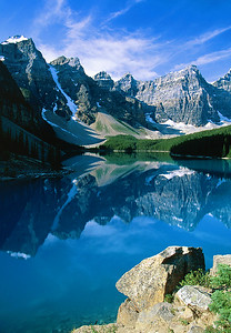 (B050)  Moraine Lake - Banff National Park, Alberta