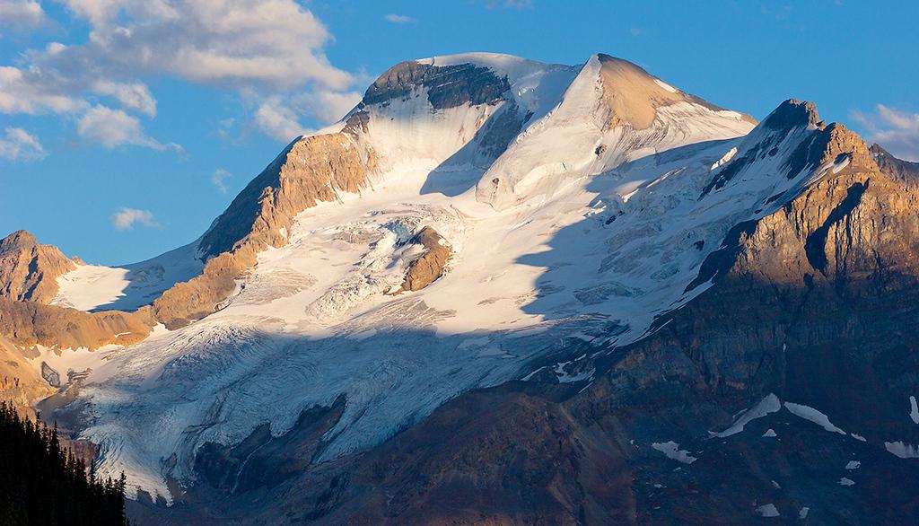 (JA-07008)  Mount Athabasca at Sunset - Jasper National Park