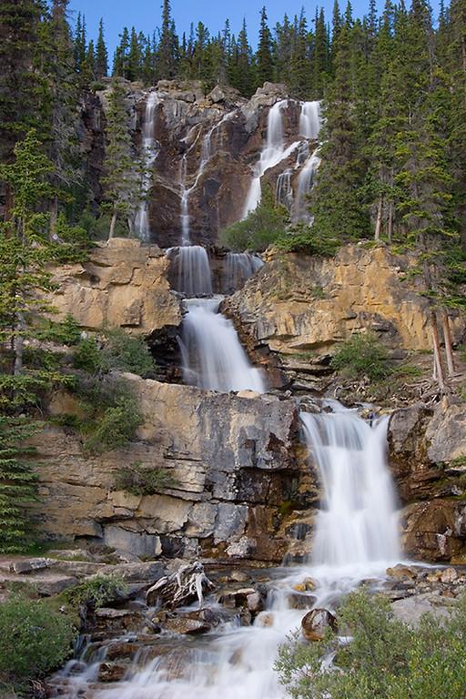 (JA-07004)  Stanley Falls - Jasper National Park
