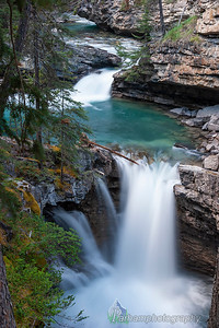 Falls in Johnston Canyon (BA-07057)