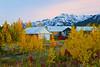Canada, Yukon, Alaska Highway,  Destruction Bay, Dusk, Fall Colors, 加拿大,  育空,  阿拉斯加高速公路, 秋色