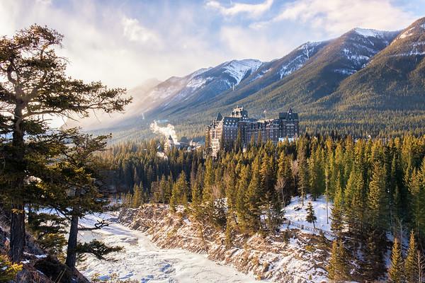 The Castle of the Rockies - Fairmont Banff Springs, Banff National Park