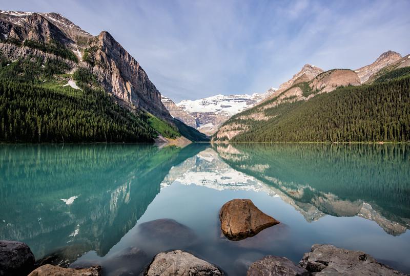 Summer Mornings at the Lake