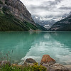 The Calm Shores of Lake Louise
