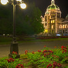 The Lampost And Parliament Buildings - Victoria Harbor,Vancouver Island,  BC, Canada