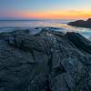 Tidepools In Bay At Sunset - Botany Bay, Juan De Fuca Trail,  Vancouver Island, BC, Canada