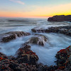 After Sunset In The Cove - Botany Bay, Juan De Fuca Trail,  Vancouver Island, BC, Canada