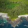 The Rocky Coastline Of Vancouver Island Clayoquot Sound ,Tofino, and Ucluelet By Air,  Vancouver Island, BC, Canada