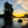 Botany Bay Sunset - Botany Bay, Botanical Beach, Vancouver Island, BC, Canada
