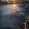 Cascade Pools At Sunset At Botany Bay - Botany Bay, Juan De Fuca Trail,  Vancouver Island, BC, Canada