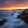 Ambleside Super Sunset- West Vancouver, British Columbia, Canada