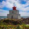 Amphitrite Lighthouse Pacific Rim National Park Reserve, Vancouver Island, BC,  Canada