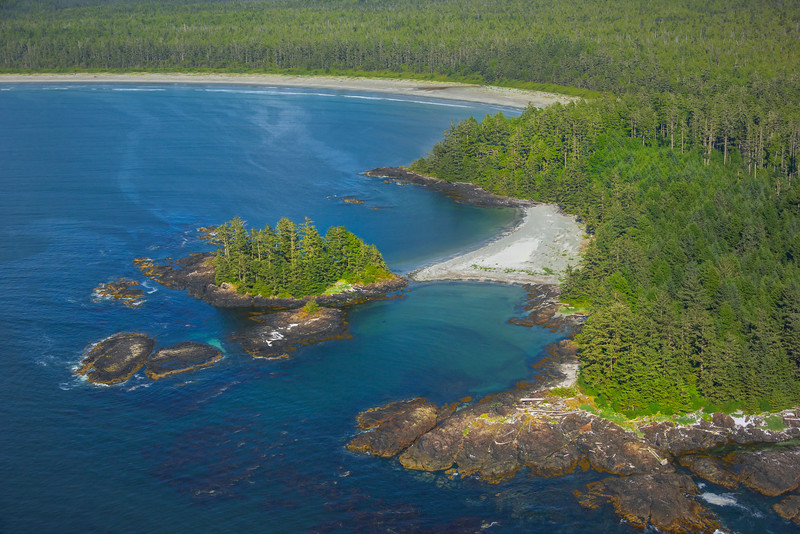 Coves And Inlets Of Vancouver Island Clayoquot Sound ,Tofino, and Ucluelet By Air,  Vancouver Island, BC, Canada