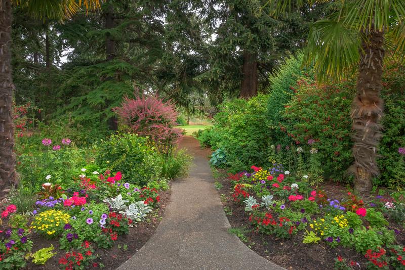 A Balance Of Warm Colors - Beacon Hill Park, Victoria, Vancouver Island, BC, Canada