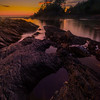 Twilight Pools At Botanical Beach - Botany Bay, Botanical Beach, Vancouver Island, BC, Canada