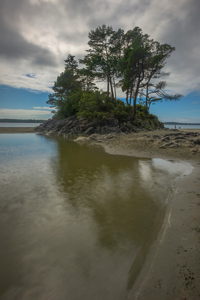 Island Of Compromise Tonquin Island, Tofino, Vancouver Island, BC, Canada