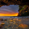 Sea Cave At Mystic Beach - Mystic Beach, Vancouver Island, BC, Canada