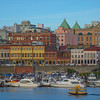 Old Downtown Of Victoria From Harbor - Victoria Harbor, Vancouver Island, BC, Canada