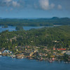The Town Of Tofino From Air Clayoquot Sound ,Tofino, and Ucluelet By Air,  Vancouver Island, BC, Canada